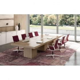 Table de réunion  :  Table de réunion haut de gamme