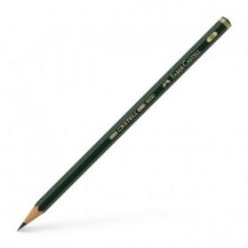 Crayon et porte mine :  CRAYON HB 2 FABER CASTEL