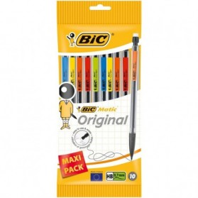 Crayon et porte mine :  Porte mines BIC Matic 0.7