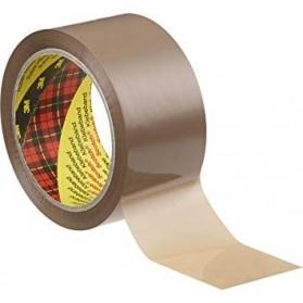 Adhesifs  :  Lot de 6 Rubans adhésifs pour emballage Havane Scotch 3M