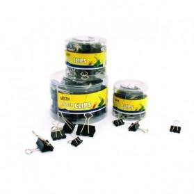 assemblages  :  Boite de 60 attaches-clips pvc+métal 15 mm